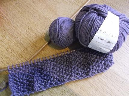Knitting April 2015 - rowan cowl