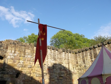 Ashby May 2015 Castle in sun 2
