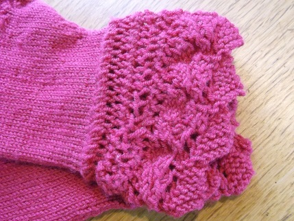 Knit for winter mitts May 3