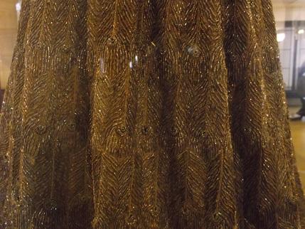 Kedleston -peacock dress