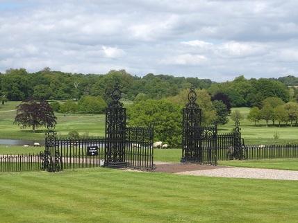 Kedleston -park