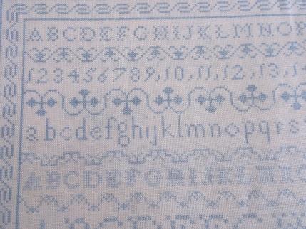 sampler fabric