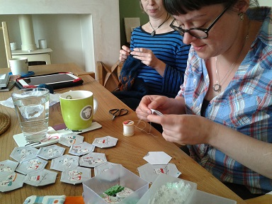 Crafternoon July Helen 1