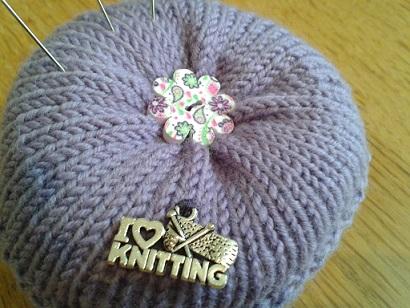 Knitted Pincushions July