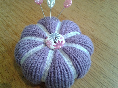 Knitted Pincushions July 2