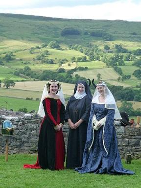 Peveril - ladies and nun -small