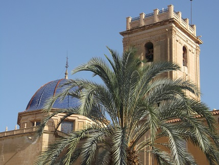 Spain July 2015 Elche cathedral 2