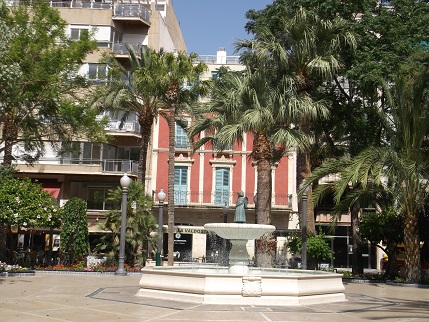 Spain July 2015 Elche square