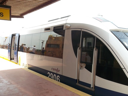 Spain July 2015 Train
