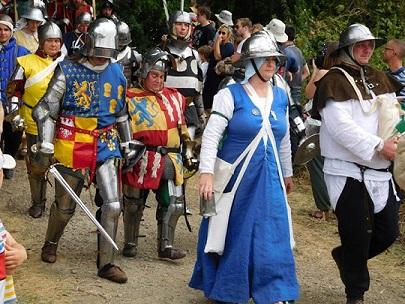 Tewks 2015 - battle walk on