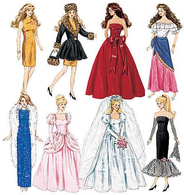 Barbie patterns