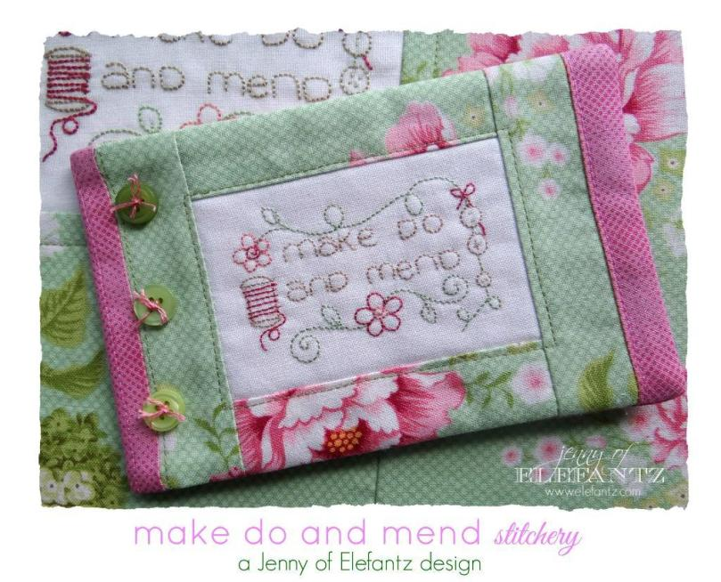 Elefantz Make Do Mend stitchery