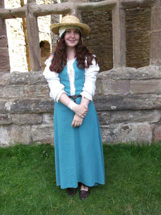 ellie - turquoise dress