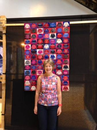 Jumpers quilt and Gillian Travis