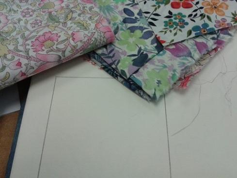 Quilt course - flower inspiration