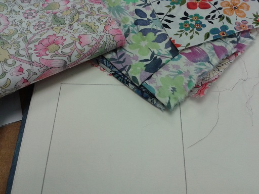 Quilt course - flower inspiration