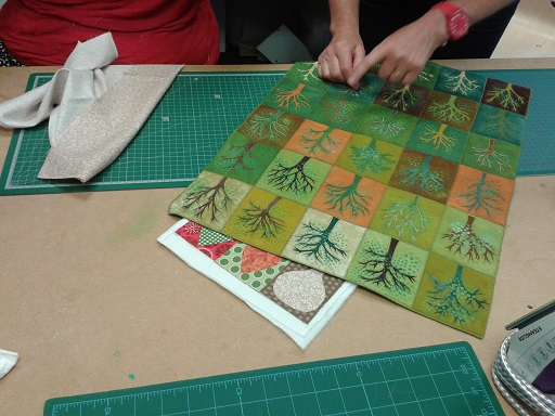 Quilt course - Gilian's trees