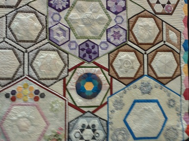 Quilt show 10 Joy of Hex