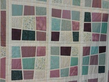 Quilt show first quilt