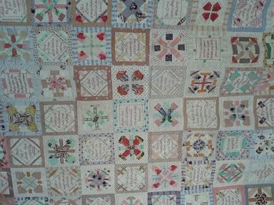 Quilt show 8 bible block quilt