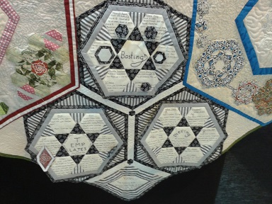 Quilt show  Joy of Hex
