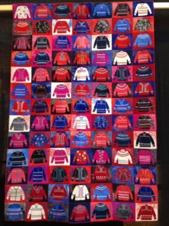 Quilt show - jumpers quilt