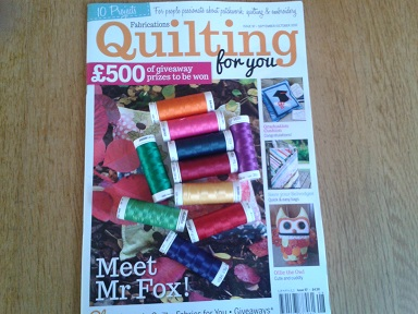 Quilt Show purchases  - Fabrications