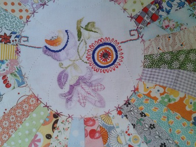 Quilt Show purchases  - Homespun 2