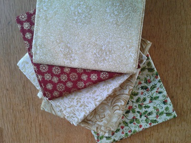 Quilt Show purchases - Xmas fabric