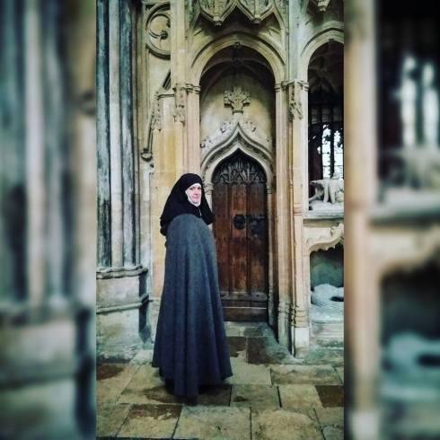 Alison at Lincoln door 2