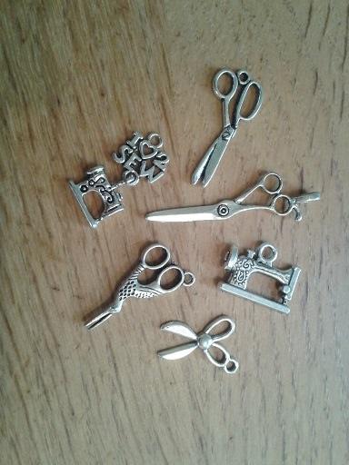 charms - scissors