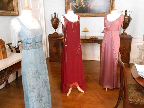 Downton costume - evening gowns