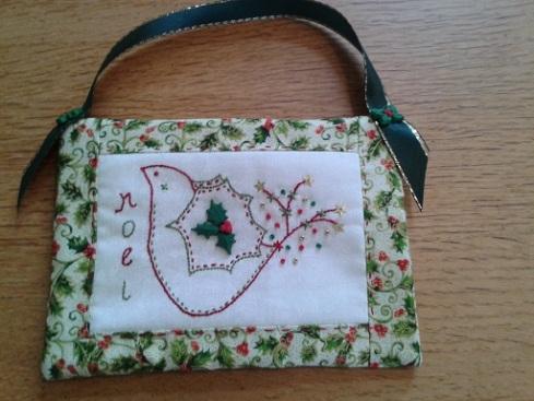 Elfantz Xmas bird ornament 1