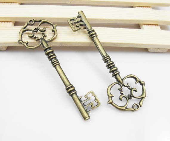 key charms from Etsy