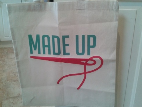 Made Up tote bag