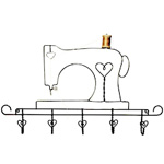 sewing machine rack