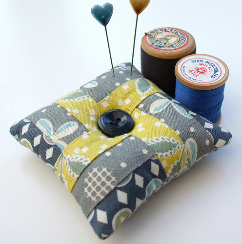 Verry Berry pincushion