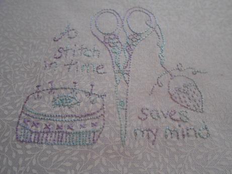 Craft room Elefantz stitching Nov 1