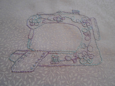 Craft room Elefantz stitching Nov 2