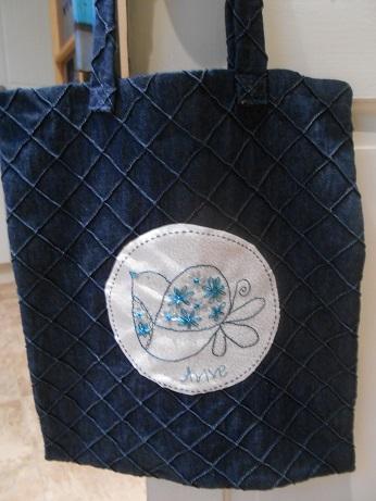 Avive's birdie bag