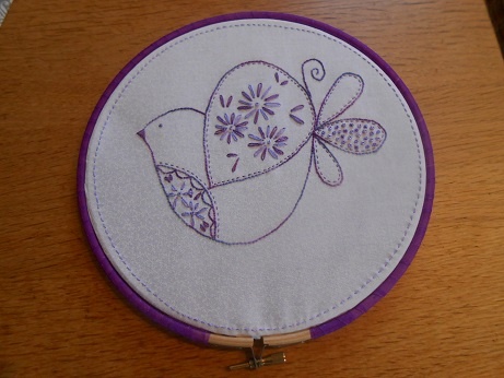 Bird stitching Dec