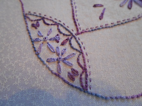 Bird stitching Dec 3