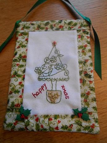 Jenny stitching Dec