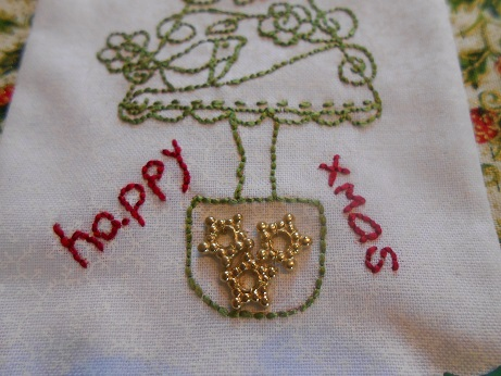 Jenny stitching Dec 2