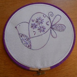 Bird stitching Dec 1