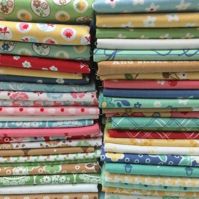 Calico days fabric