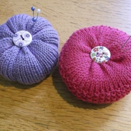 knitted pincushions May 1