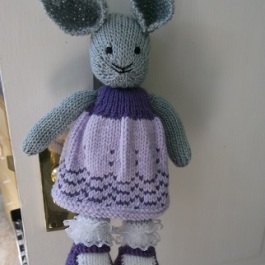 Lavender bunny