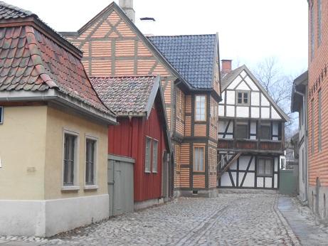 Norway Folk Museum houses 5