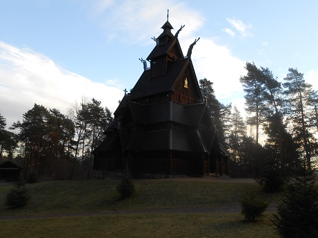 Norway Stave church 2